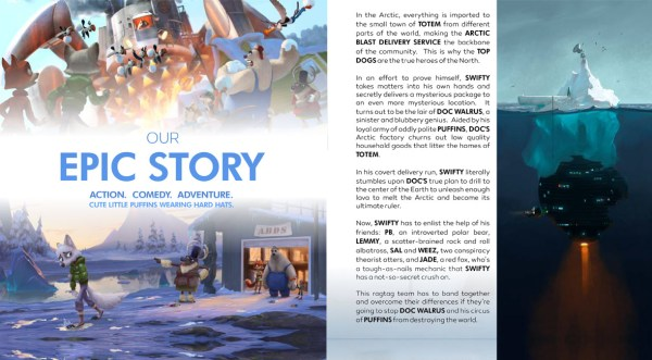 Arctic Justice - Epic story
