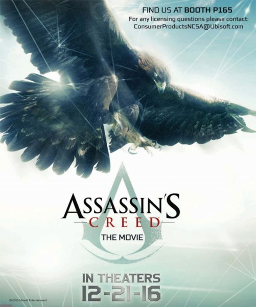 Assassin's Creed Movie teaser Poster