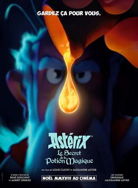 Asterix The Secret Of The Magic Potion Teaser Poster