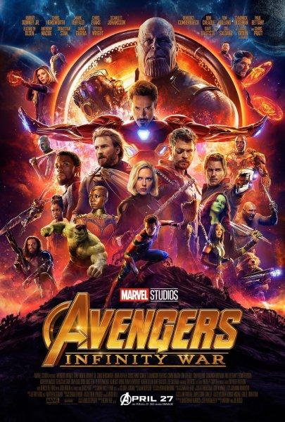 Avengers Infinity War 2018 New Poster