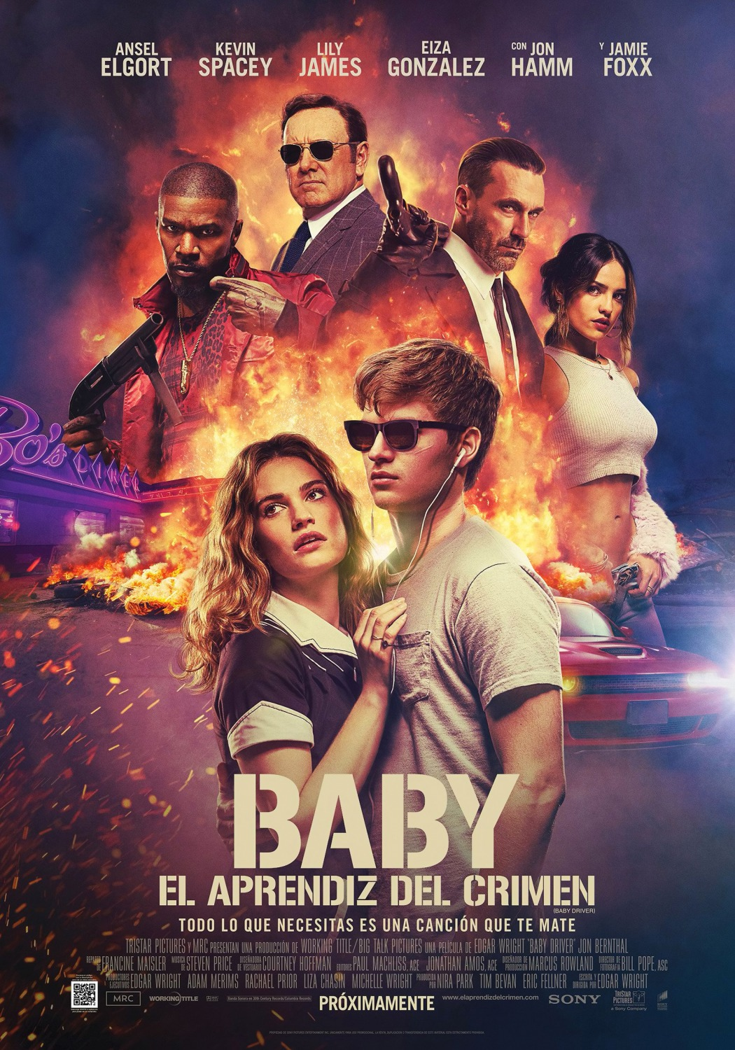 baby driver movie � trailer and poster teaser trailer