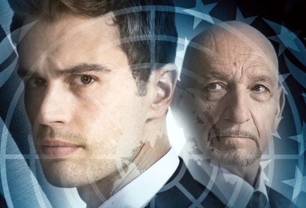 Backstabbing For Beginners Movie Theo James And Ben Kingsley