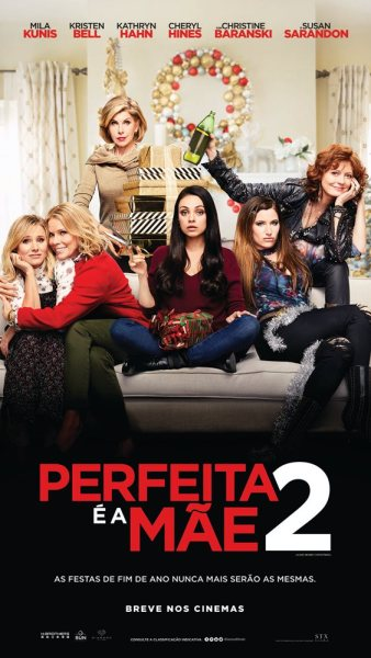 Bad Moms 2 Brazilian Poster