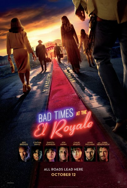 Bad Times At The El Royale New Film Poster 2018