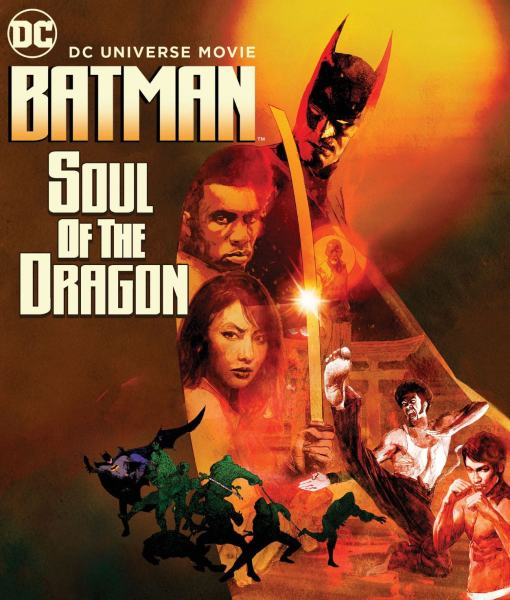 Batman Soul Of The Dragon Movie Poster