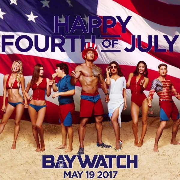 Baywatch Fourth Of July