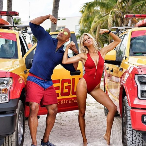 Baywatch Movie - Mitch and CJ