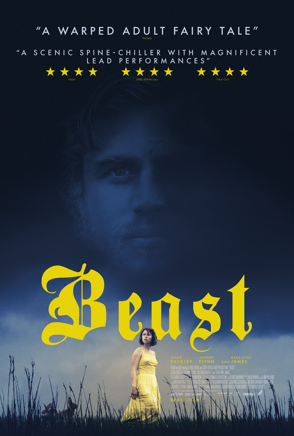 beast movie poster teaser trailer