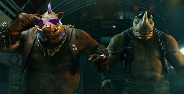 Bebop and Rocksteady - Teenage Mutant Ninja Turtles 2