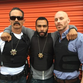 Benjamin Bratt, Omari Hardwick and Matt Gerald - Shot Caller movie