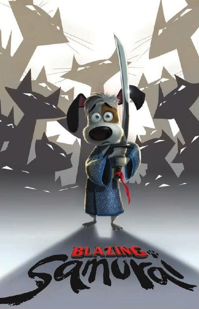 Blazing Samurai Sales Teaser Poster