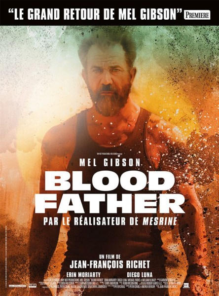 Blood Father French Poster