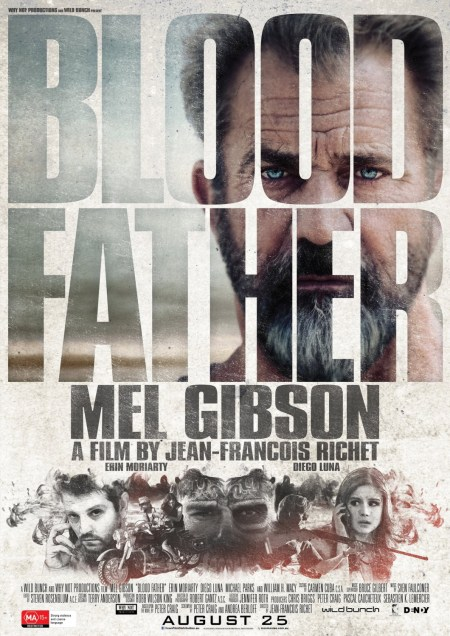Nieuwe Blood Father poster