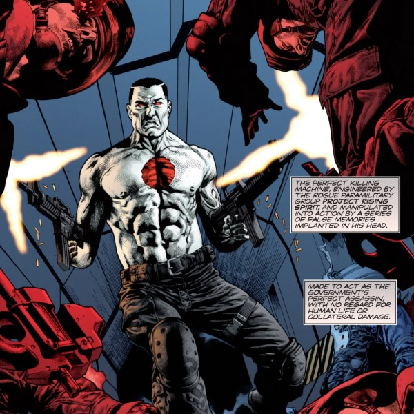 Bloodshot Comic Book