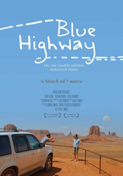 Blue Highway Polish Poster