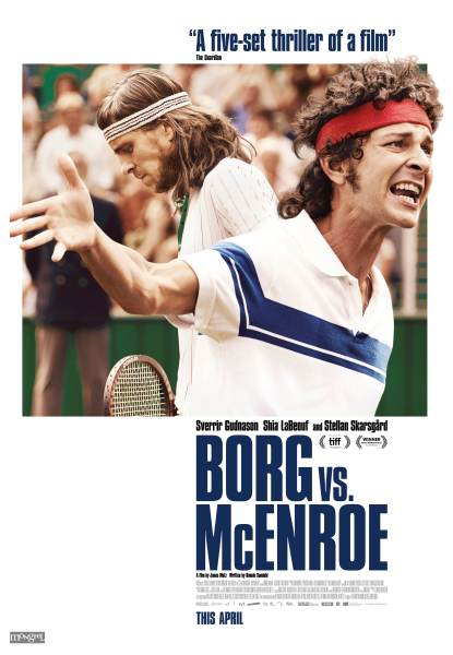Borg Vs McEnroe New Poster
