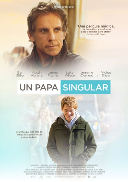 Brad's Status New International Poster