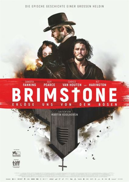 Brimstone German Poster