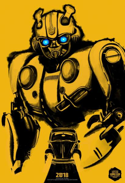 Bumblebee Comic Con Poster