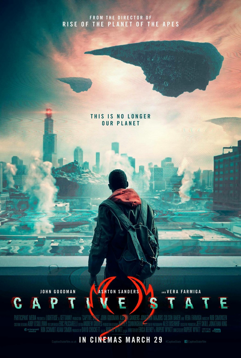 Image result for captive state movie poster