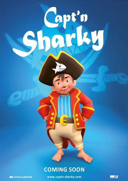 Capt'n Sharky Movie Poster