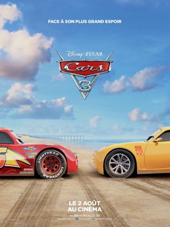 Cars 3 Movie Poster : Teaser Trailer