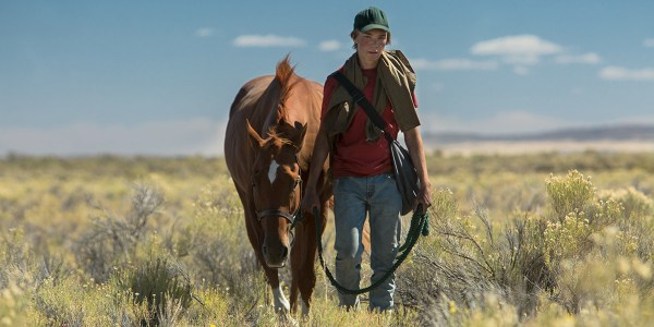 Charlie Plummer And Horse Lean On Pete Movie