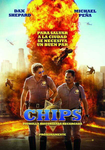 Chips New Poster