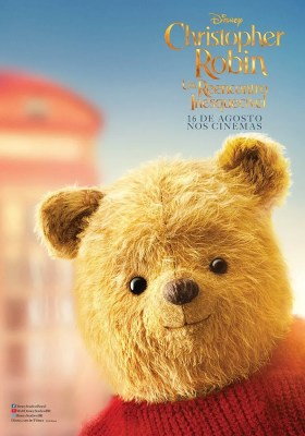 Christopher Robin Character Poster - Winnie the Pooh