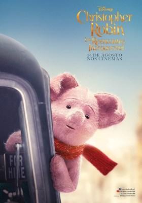 Christopher Robin Character Poster - Pigelt