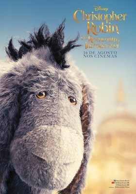 Christopher Robin Character Poster - Eyeore