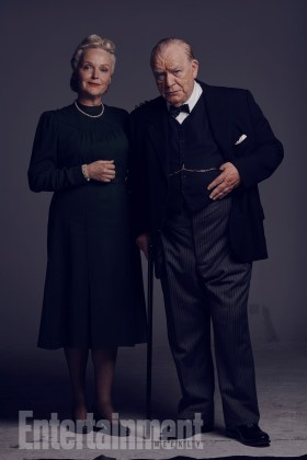 Brian Cox as Churchill and Miranda Richardson as Churchill's feisty wife, Clementine