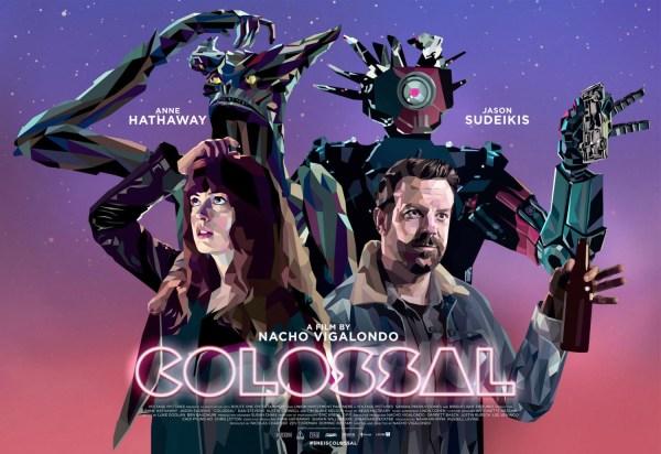 Colossal - Kaiju And Robot Poster