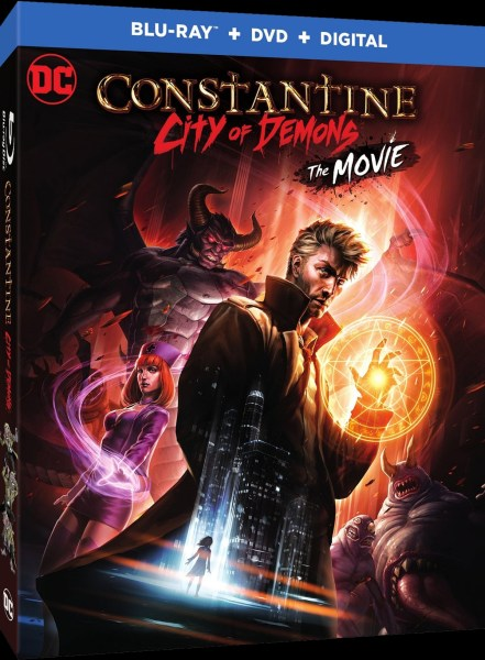 Constantine City Of Demons Movie Poster
