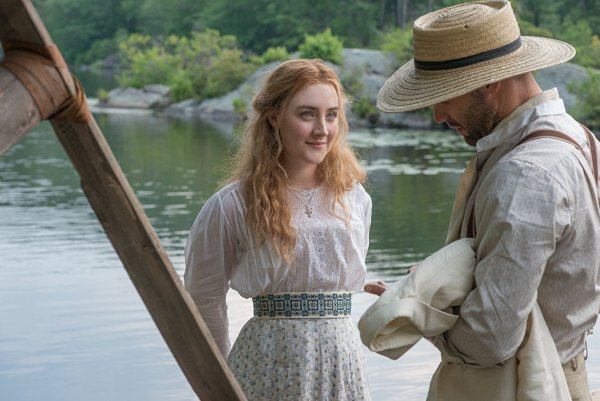 Corey Stoll And Saoirse Ronan In The Seagull (2018)