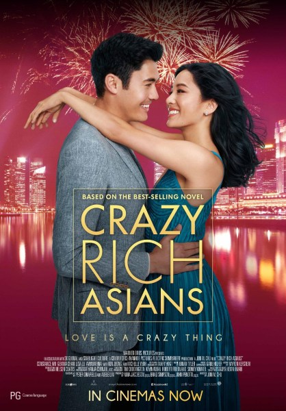 Crazy Rich Asians New Poster From Australia