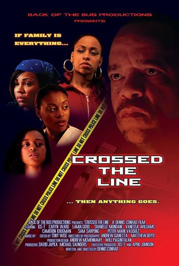 Crossed The Line Poster
