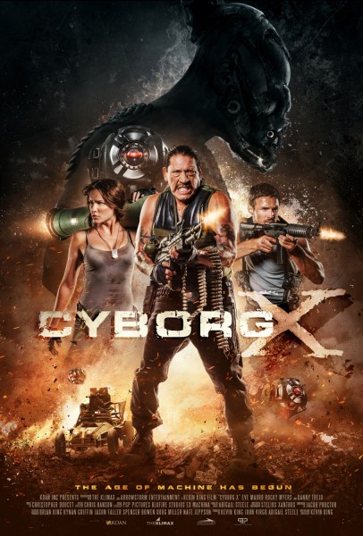 Cyborg X movie poster