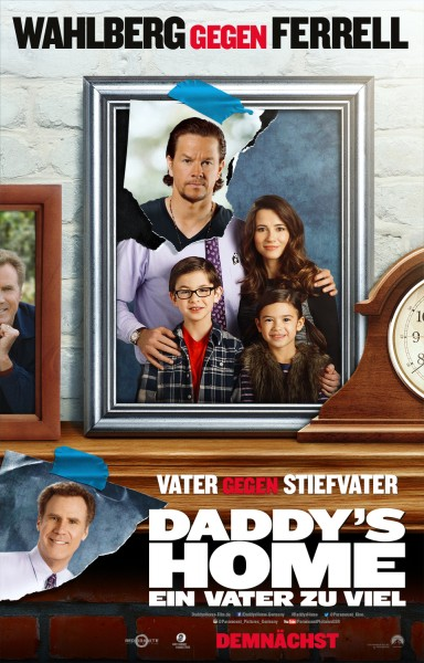 DADDY'S HOME German Poster
