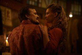 Damon Herriman and Mia Wasikowska in Judy And Punch