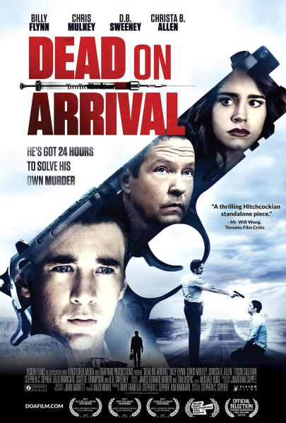 Dead On Arrival New Movie Poster