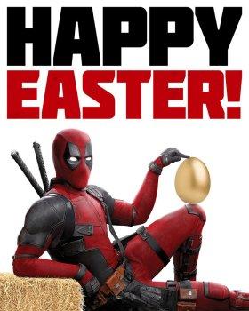 Deadpool 2 Easter Poster