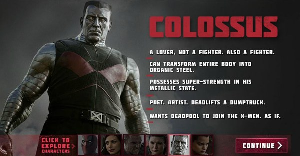 Deadpool Movie - Stefan Kapicic as Colossus