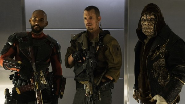 Deadshot, Rick Flag, and King Croc - Suicide Squad movie