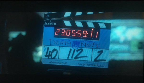 Death Note Film Clapperboard