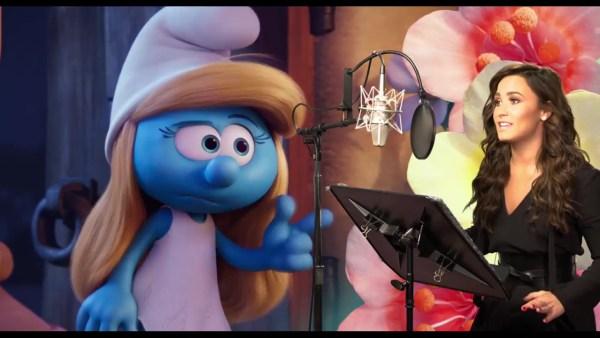 Demi Lovato As Smurfette