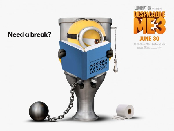 Despicable Me 3 - Minion - Toilet Poster