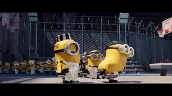Despicable Me 3 Movie - Minions in Prison