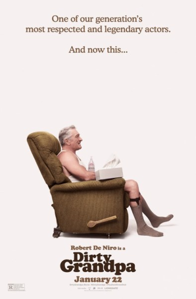 Dirty Grandpa - Robert De Niro Poster