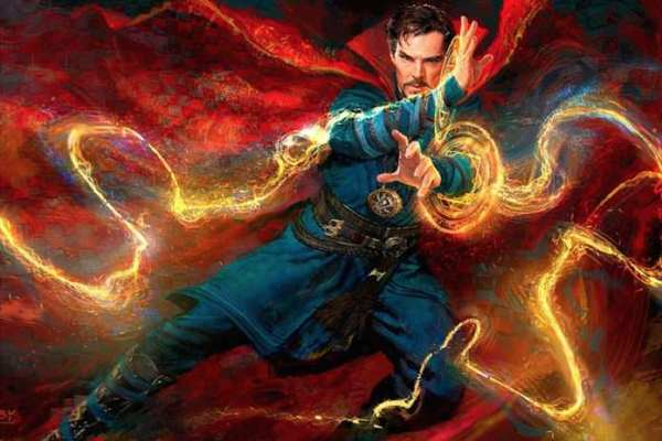 Doctor Strange Movie Concept Art - Movie making of